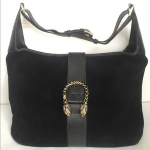Vintage GUCCI Dionysus Suede & Leather Bag